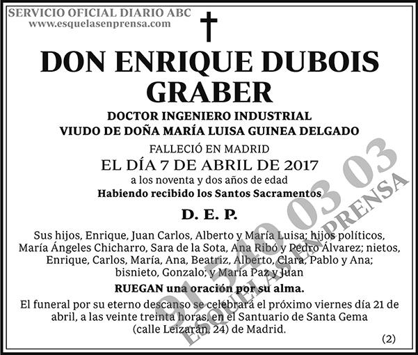 Enrique Dubois Graber